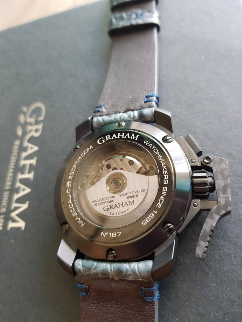 """Graham """"Black Forest"""" Chronofigter Oversize"""