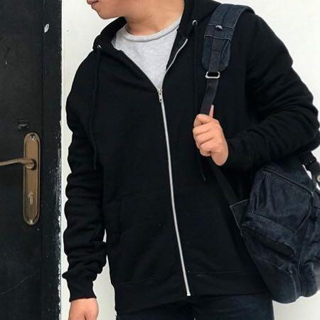 H&M Basic Zipper Hoodie