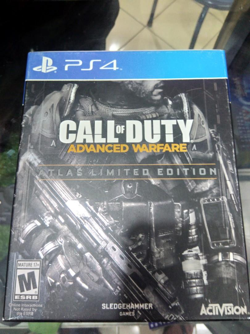 Kaset BD PlayStation 4 PS4 Call Of Duty Advanced Warfare Deluxe Edition