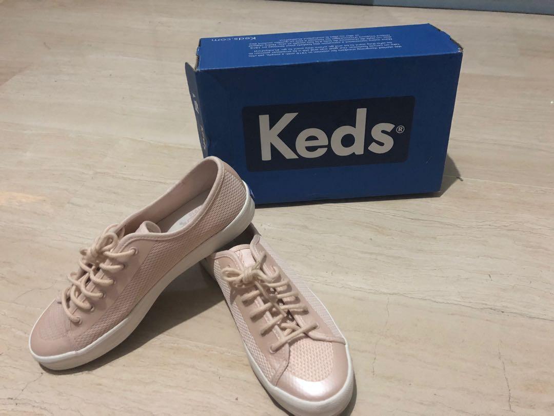Keds Kickstart Diamond Mesh Pink, Women