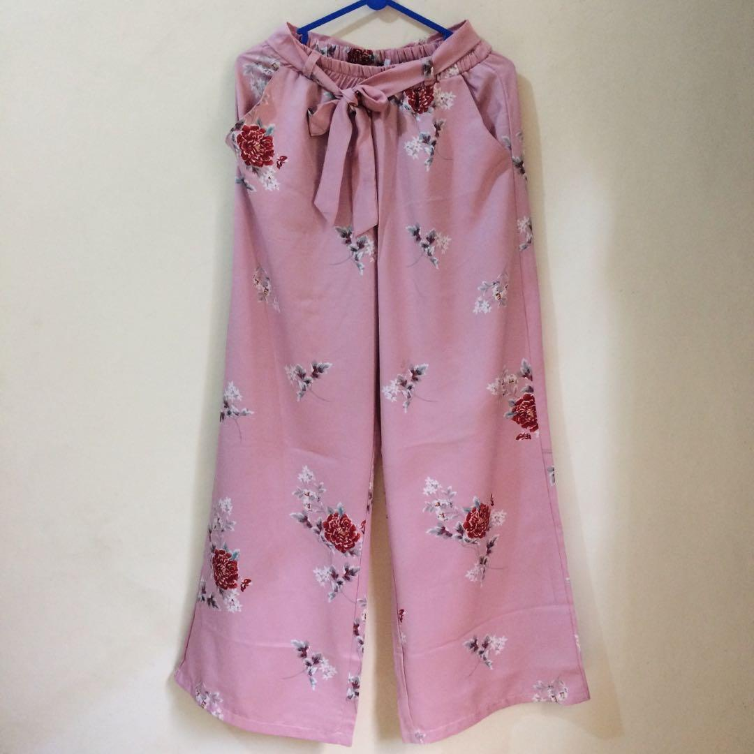 Kulot Panjang Pink