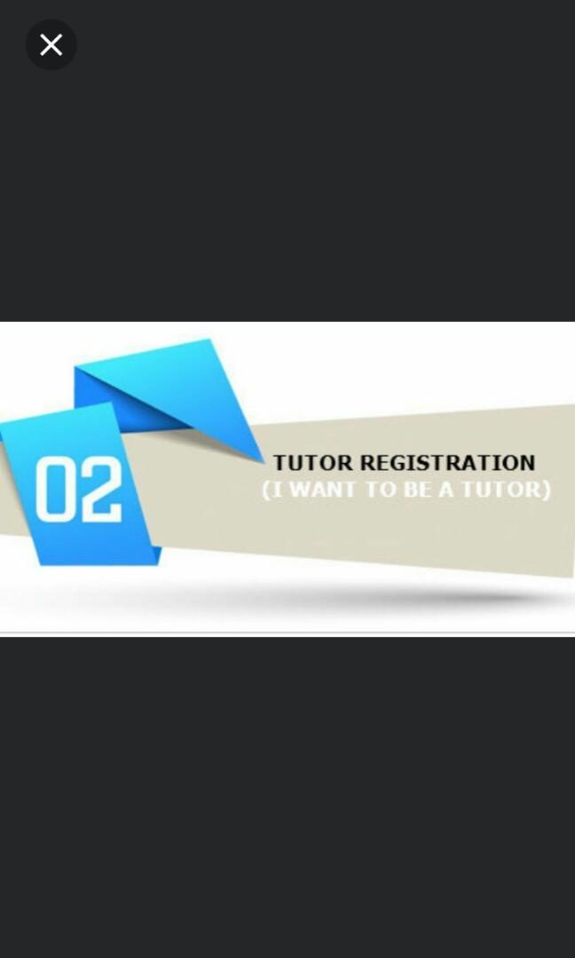 Looking for tutor islandwide