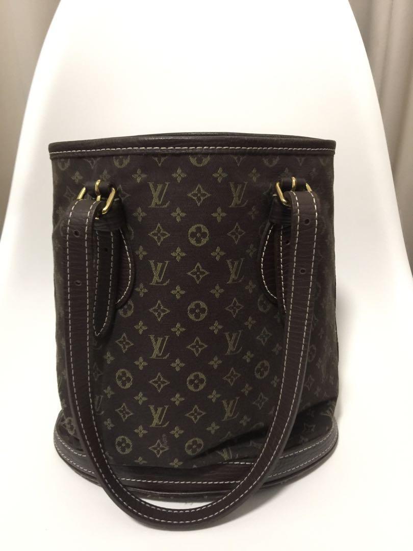 Louis Vuitton Mini LIN bucket bag