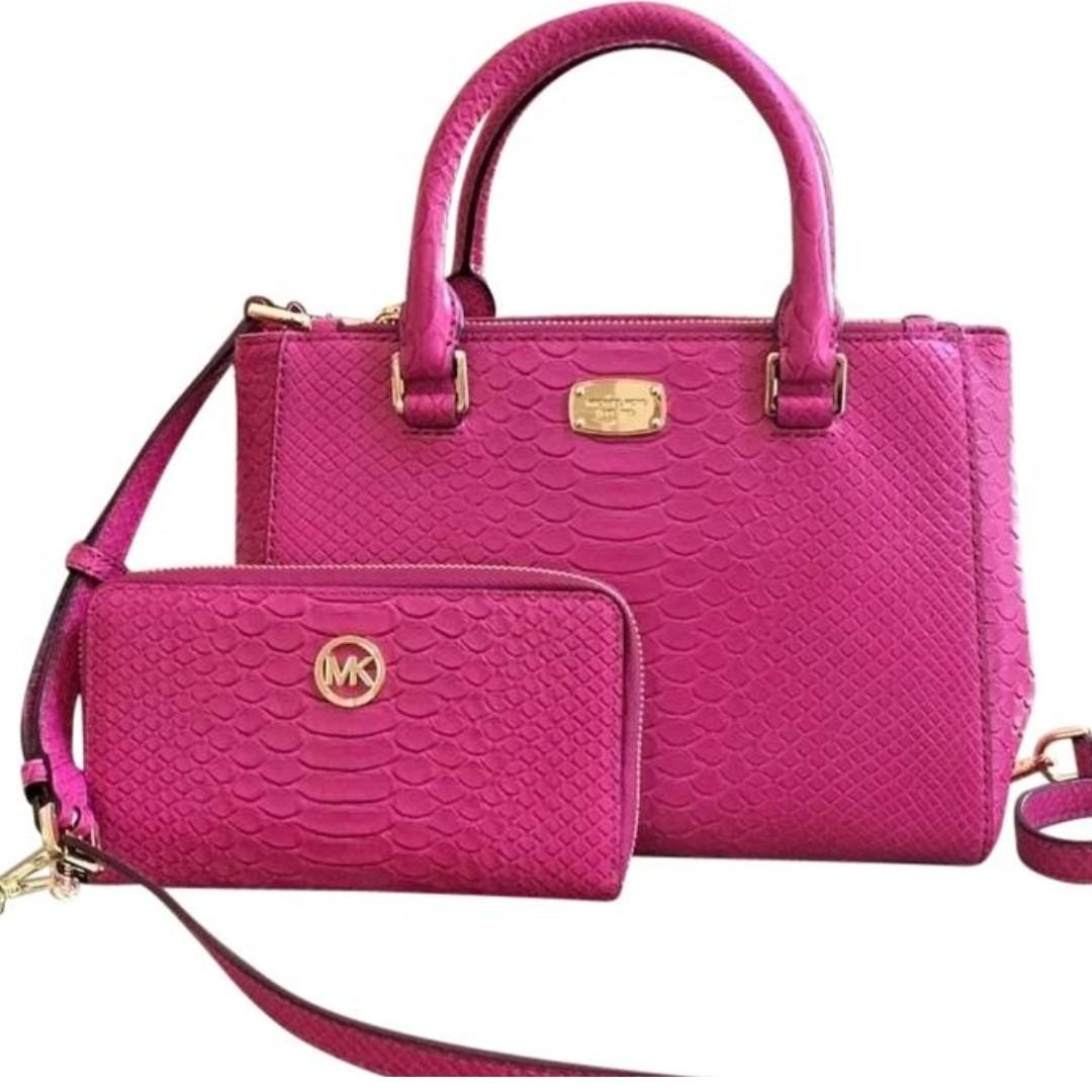 Michael Kors Kellen XS Satchel Pink. 60% OFF Clearance Sales original price: MYR930.81!
