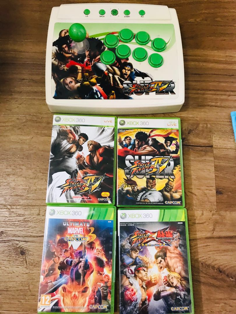 Negotiable! Fastdeal! Street fighter Console and Xbox Games