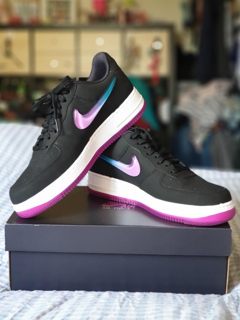 Nike Air Force 1 Jelly Jewel Black