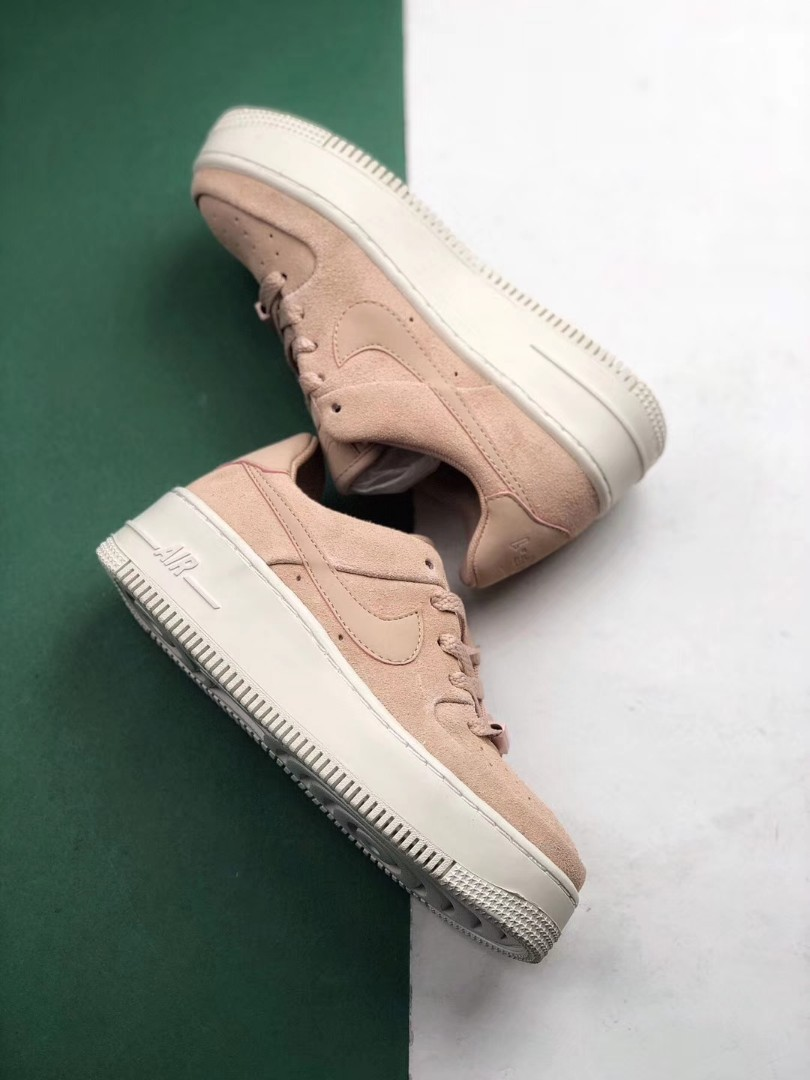 619bdb519a1 Nike Air Force 1 Ladies Sage Low