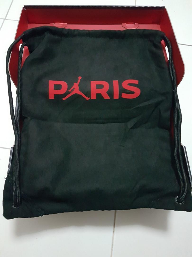 dffb8d37912f7 Nike Mercurial Vapor 12 Elite FG Jordan x PSG - Black Challenge Red ...