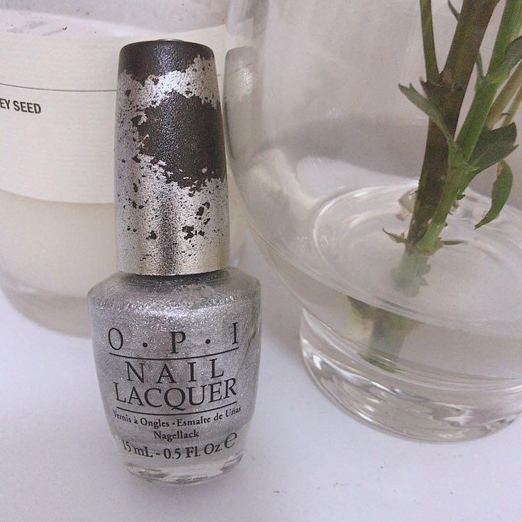 OPI Silver Nail Polish #SwapAU