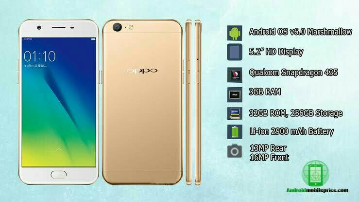 Oppo a57 3gb RAM, 32gb ROM, Mobile Phones & Tablets, Android Phones