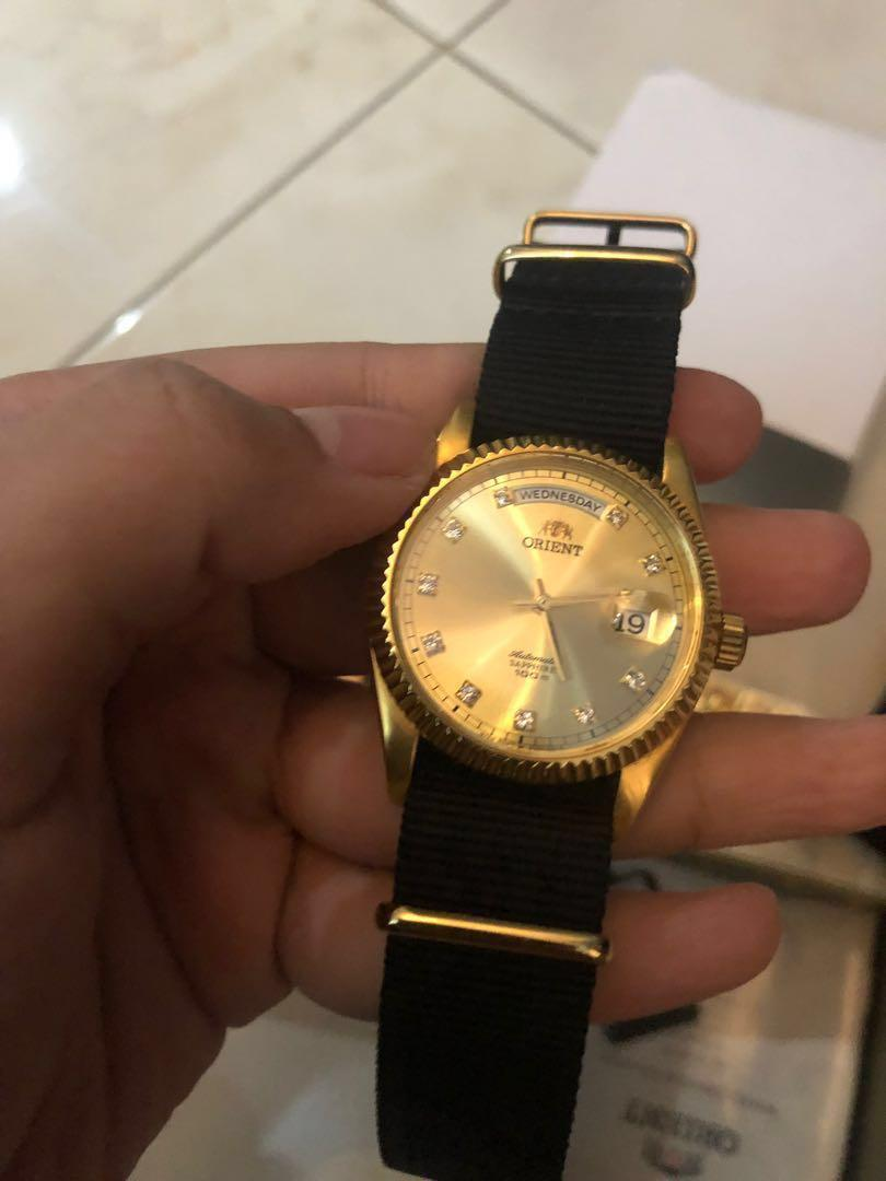 Orient Day Date President Gold (Rare)