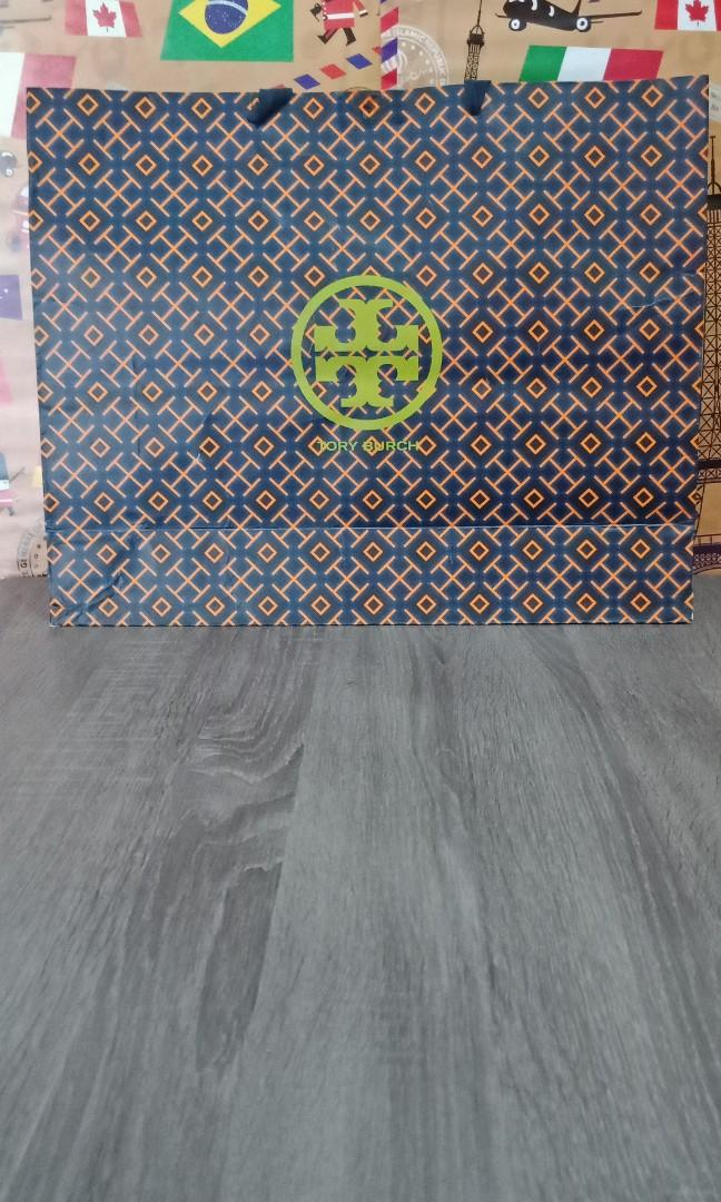 Paperbag tory burch