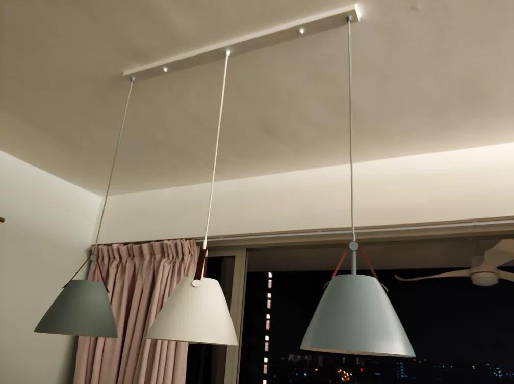 Pendant lights handbag style