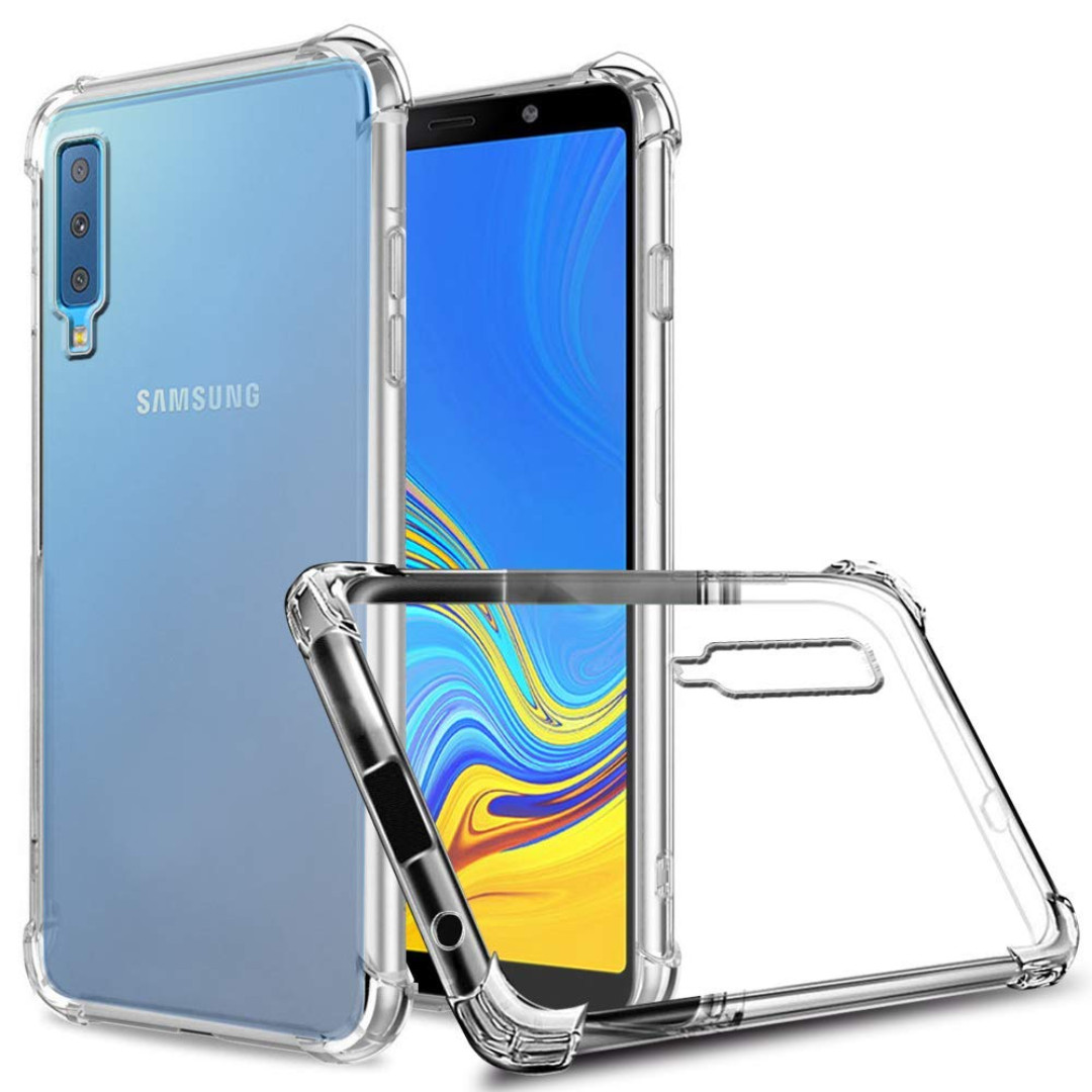 watch 32df4 ff21e Samsung A7(2018) Shockproof Clear Case