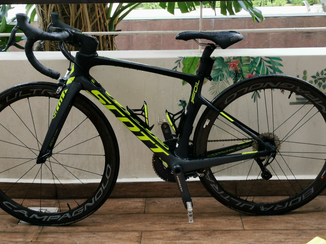 7e9bc7dc2bb Scott Foil 10 Road Bike with di2, Bicycles & PMDs, Bicycles, Road Bikes on  Carousell