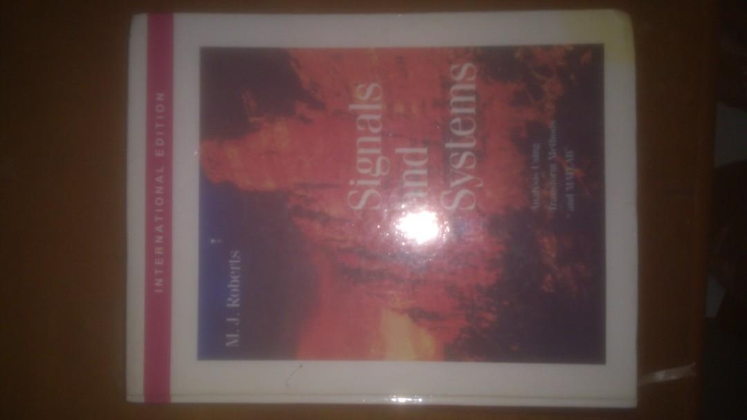 Signals and Systems M J Roberts