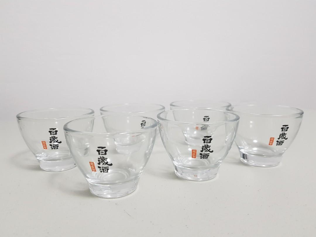 Soju glasses x 6 pcs
