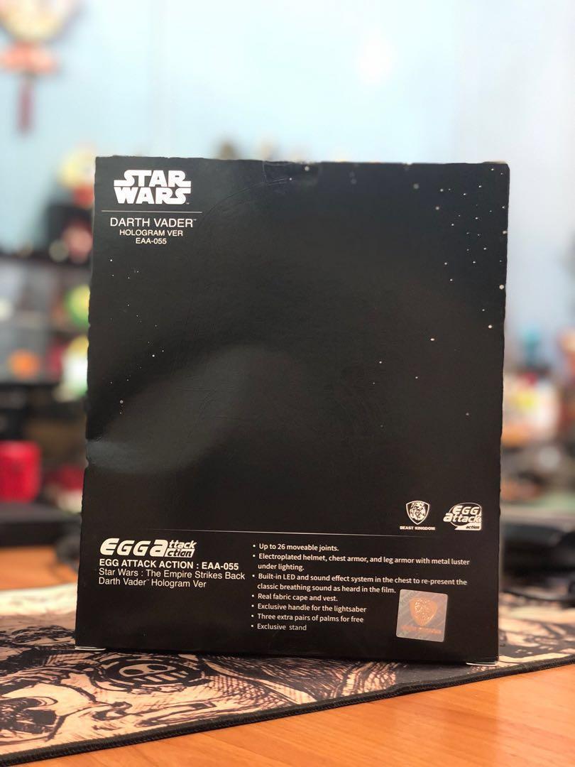 Star Wars: The Empire Strikes Back (Darth Vader) [HOLOGRAM VER] [BEAST KINGDOM]