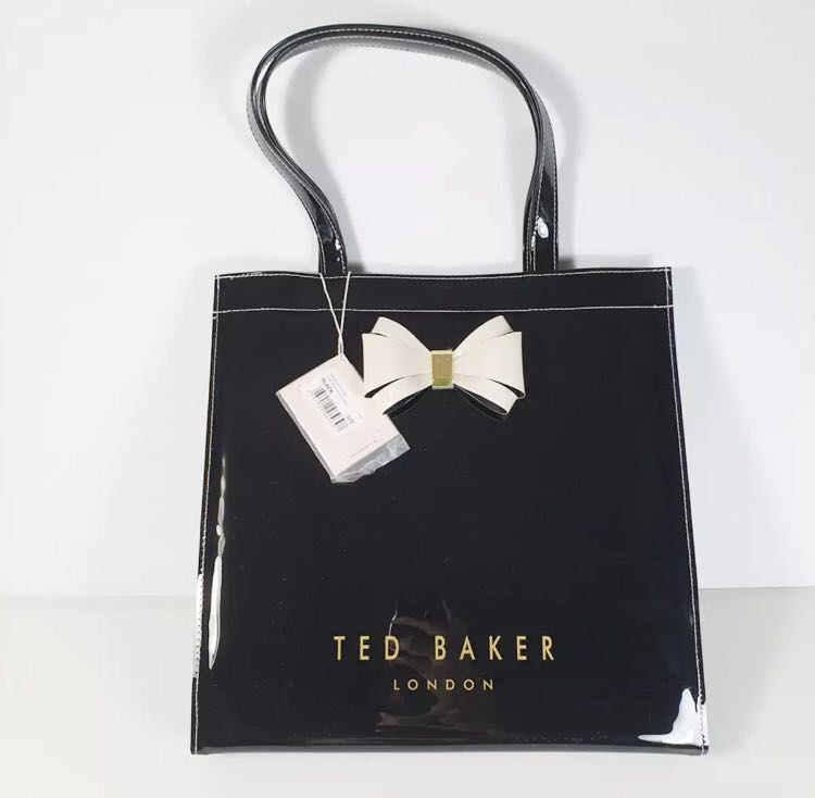 1d038b8be8 Ted Baker Plain Bow Small Icon Bag, Women's Fashion, Bags & Wallets ...