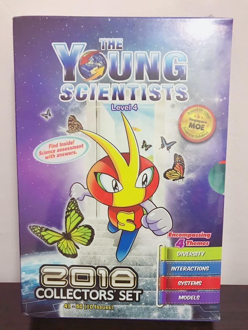 The Young Scientists Level 4 2018 Collectors's Set
