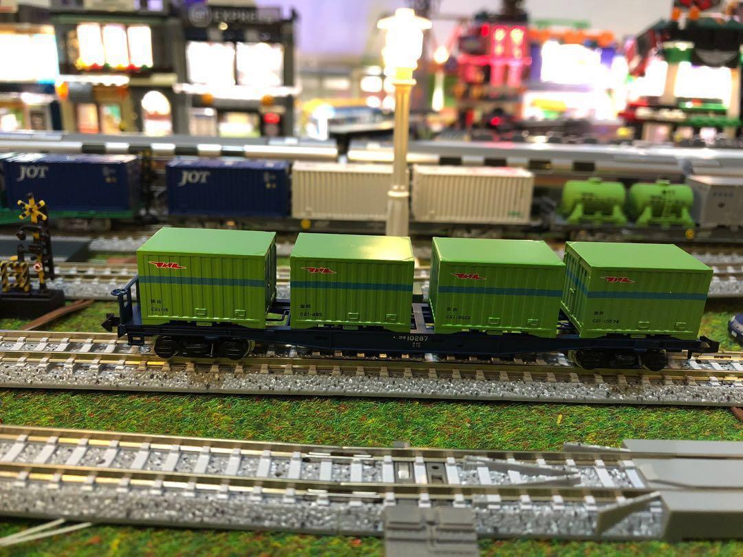 TOMIX 2756 - Railway freight car wagon 10000 type (with