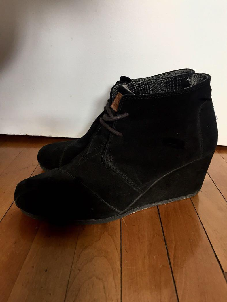 🌼Toms Wedge Boots