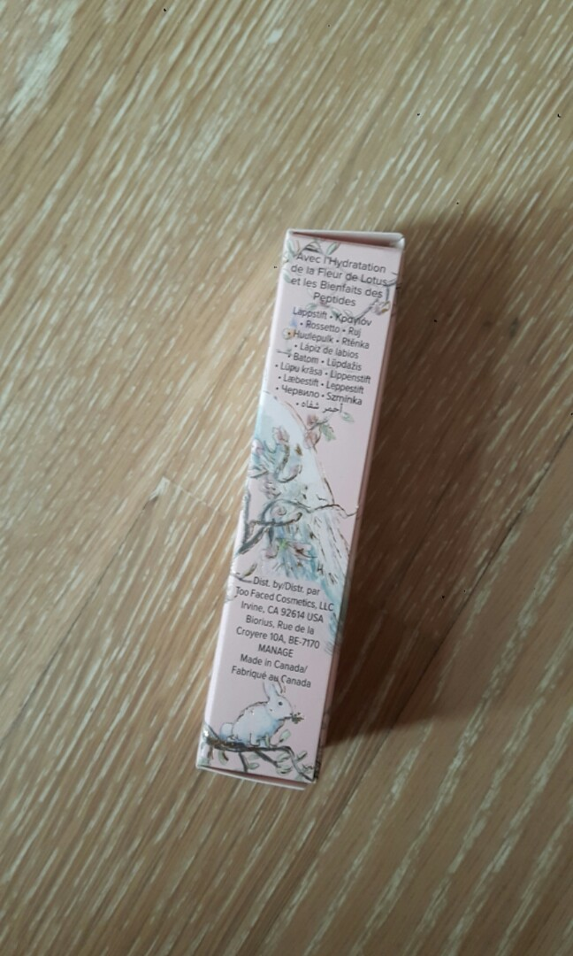 Too Faced La Creme Color Drenched Lipstick Unicorn Tears Health