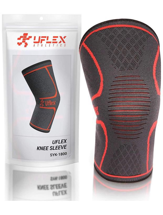 569016328e UFLEX Athletic Knee Sleeves, Sports, Braces & Supports on Carousell