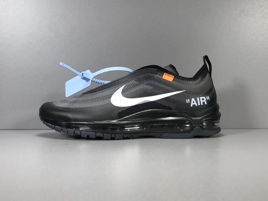 sports shoes 338e8 1d5da Unisex 36-44.5 Authentic OFFWHITE The 10 Nike Air max 97 AJ4585-001 ...