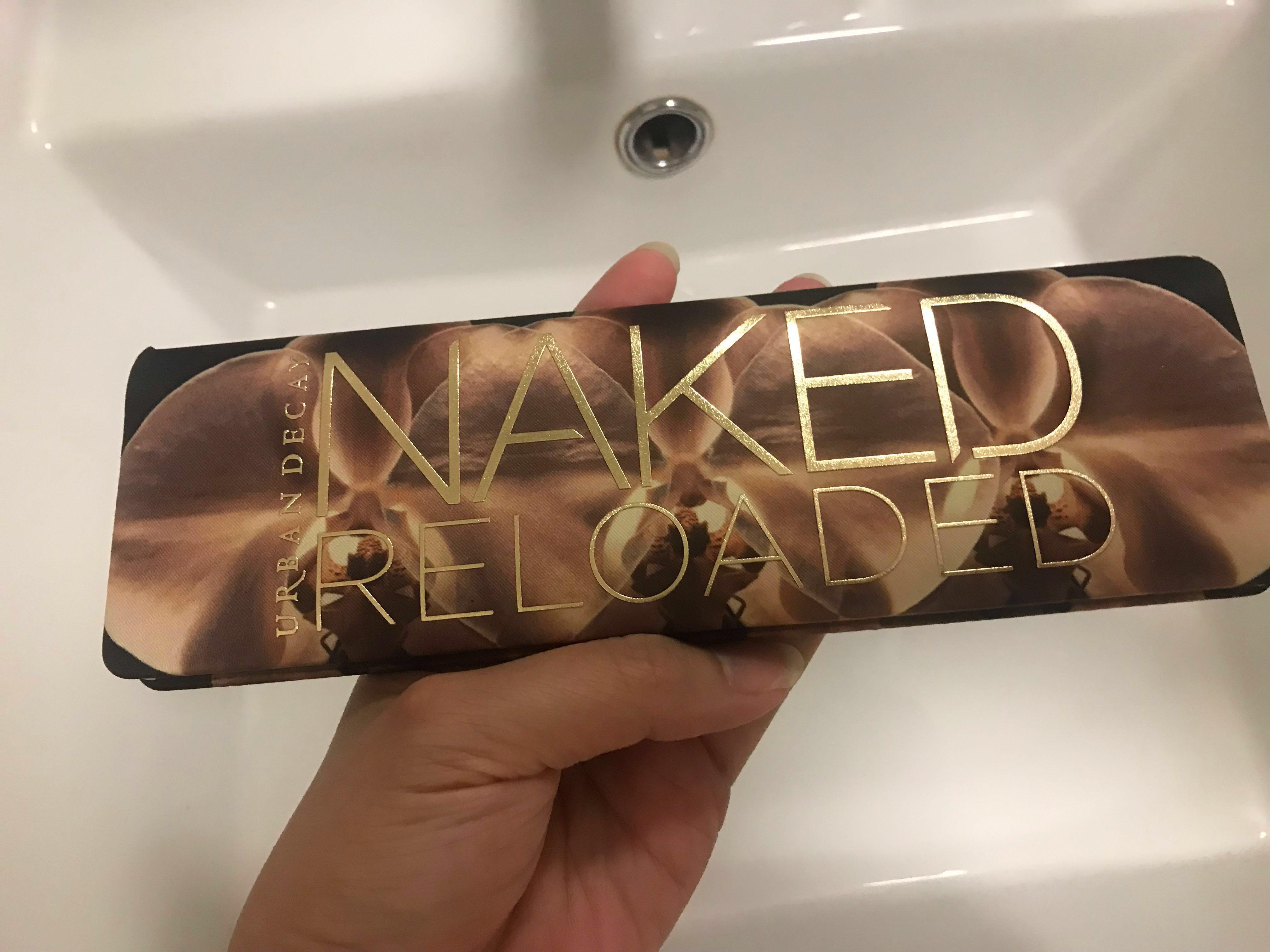 Urban Decay Naked Reloaded eyeshadow palette Authentic