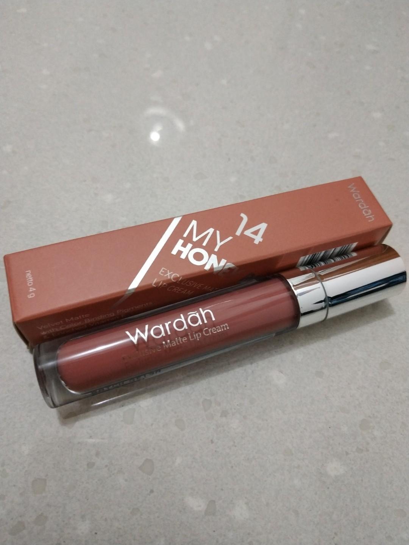 Wardah Exclusive Matte Lip Cream shade 14