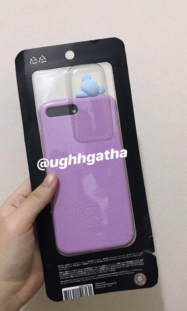 [WTS] BT21 OFFICIAL iPhone 7/8Plus Koya Phone Case OFF