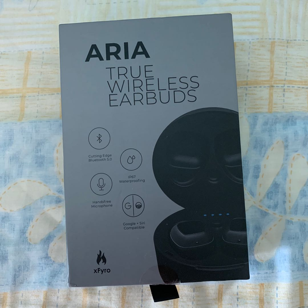 a6aca4e1a6e xFyro Aria Wireless Earbuds, Electronics, Audio on Carousell