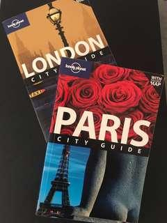 MATTA Fair Deal: Lonely Planet - LONDON and PARIS combo!