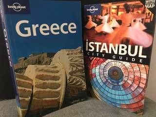 MATTA Fair Deal: Lonely Planet - GREECE and ISTANBUL combo
