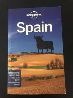 MATTA Fair Deal: Lonely Planet - SPAIN (with pull-out map!)