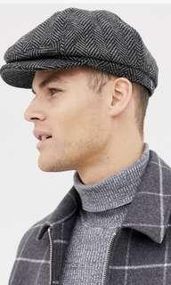 Burton menswear baker boy hat