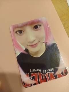 Exo Chanyeol For Life Photocard