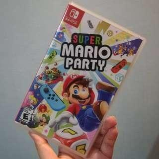 Nintendo Switch Super Mario Party Games