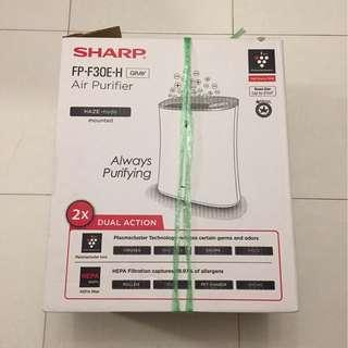 Used Working Sharp Air Purifier (FP-F30E-H) For Sale