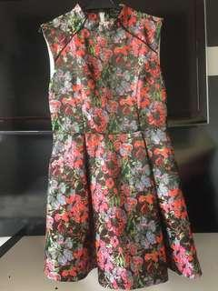 Zalora Festival - Sweet Flora Fit and Flare Dress