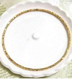 🚚 金色手環