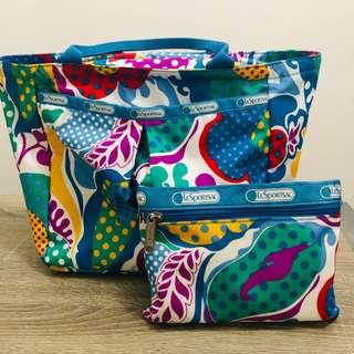 Hand Bag and Pouch from LeSportsac