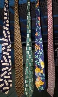 复古奢侈品牌丝绸领带。卓越的品质 Vintage Luxury Brand Silk Ties. exceptional quality