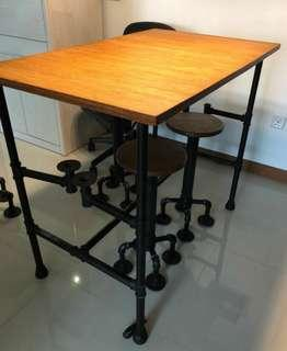 Handmade Dining Table Set