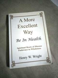 Used Health/Spiritual Book