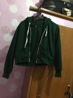 Crop Jacket Hijau
