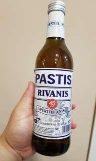 Sealed Pastis Rivanis 50cl 500ml