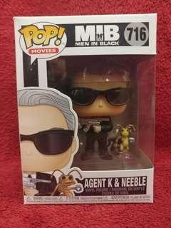 Funko Pop! Movies: MIB Agent K & Neeble 💯% Authentic