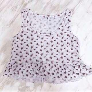 INSTOCK Cotton On Floral Peplum Top #dressforsuccess30